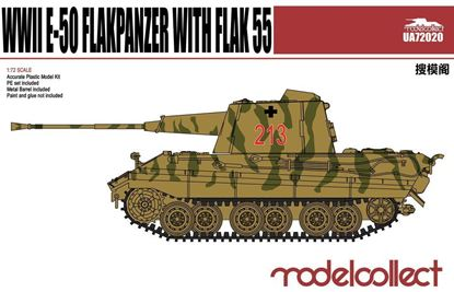Picture of Germany WWII E-50 Flakpanzer with FLAK 55
