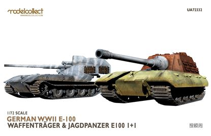 Picture of German WWII E-100 waffentrager&jagdpanzer E-100 1+1